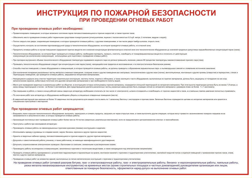 нумерация инструкций по пожарной безопасности - фото 6